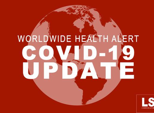 Worldwide Health Alert – COVID-19 Update