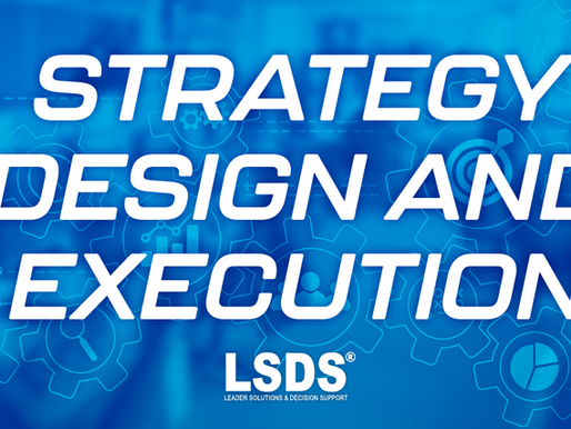 STRATEGY DESIGN AND EXECUTION