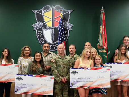 Special Forces Scholarship Fund Awards Ceremony