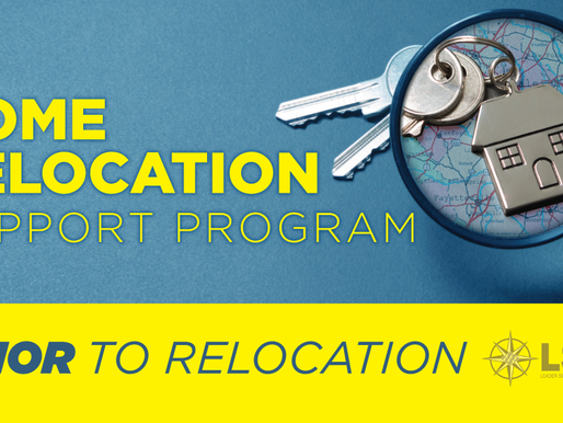 LSDS HOME RELOCATION SUPPORT PROGRAM - PRIOR TO RELOCATION