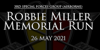 3rd Special Forces Group (Airborne) SSG Robert Miller Memorial Run