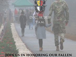 3rd Special Forces Group (Airborne) Wreath Laying Ceremony & Memorial Walk