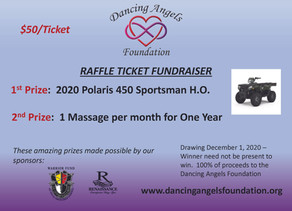 Buy Your Dancing Angels Foundation Raffle Ticket Today!
