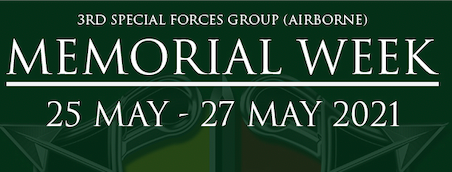 3rd Special Forces Group (Airborne) Memorial Week