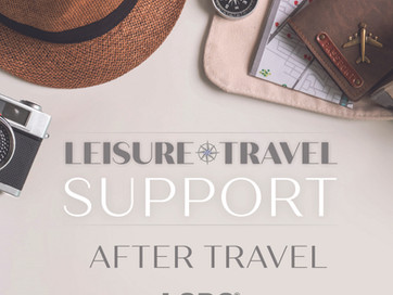 LSDS LEISURE TRAVEL SUPPORT PROGRAM - AFTER TRAVEL