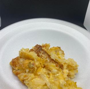 Cheesy Potatoes ($3)
