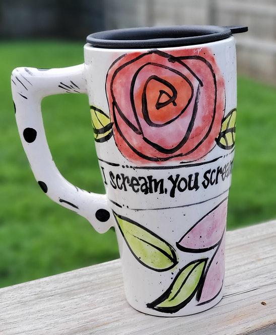 I Scream Travel Mug