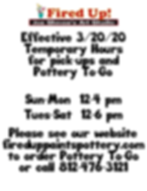 Effective 3_20_20 Temporary Hours for pi
