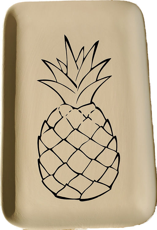 Rectangle Pineapple Plate