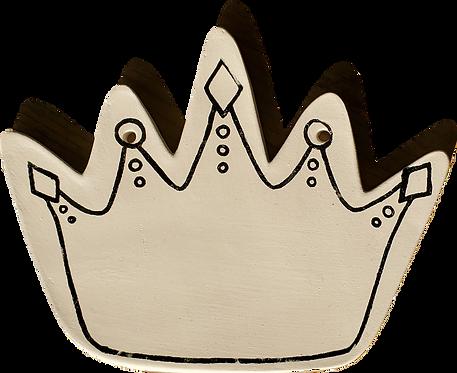 Coloring Book Plaque-Crown