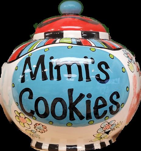 Big Label Cookie Jar