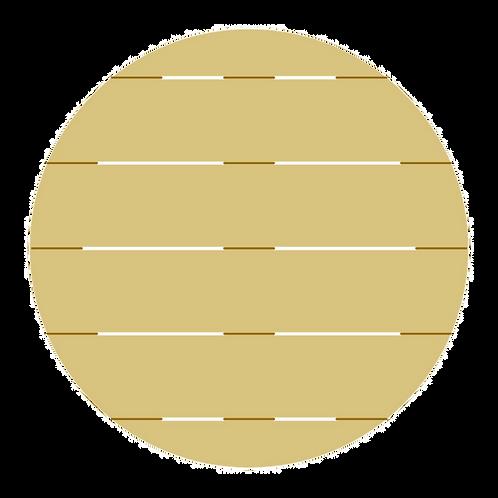 Circle Pallet Door Hanger