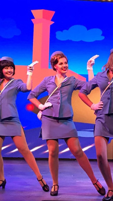 Rachel Haselhorst in Catch Me If You Can