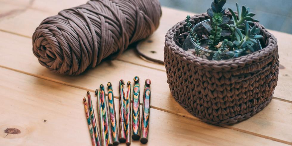 Plantão tira-dúvidas de crochê
