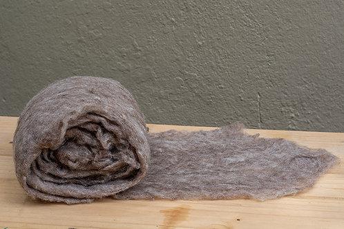 Mantas de Lã Merino Cardada Tingimento Químico (base para pré felt)