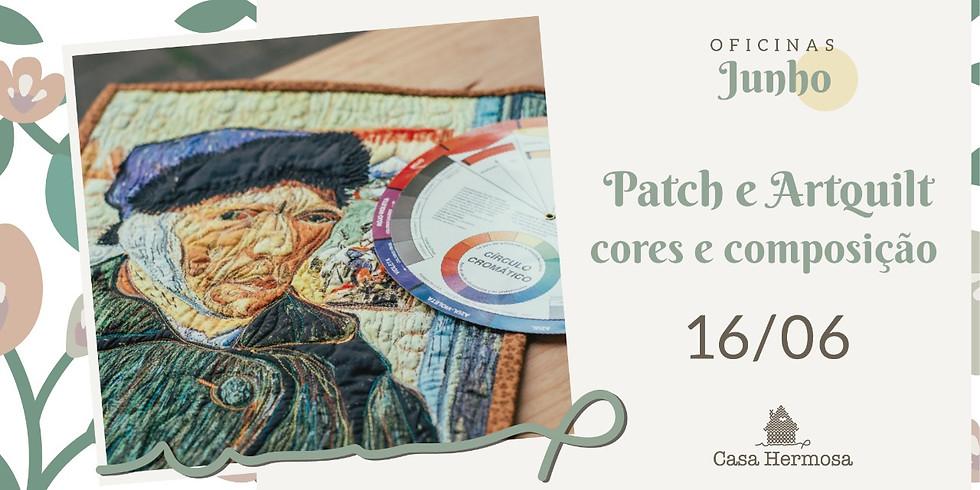 Patch e Artquilt - cores e composição
