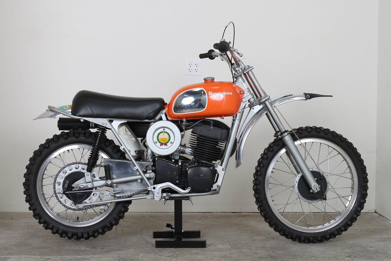 Vintage Motocross Bike 54