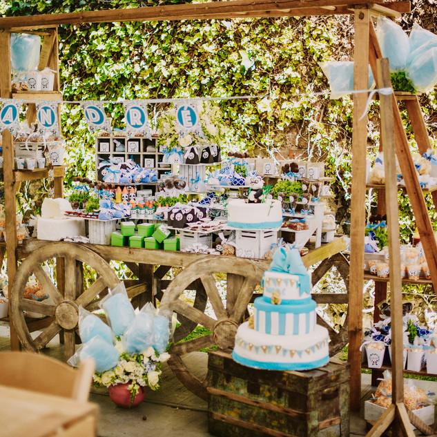 Mesas de dulces personalizadas