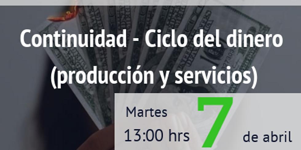 Continuidad - Ciclo del dinero (producción y servicios)
