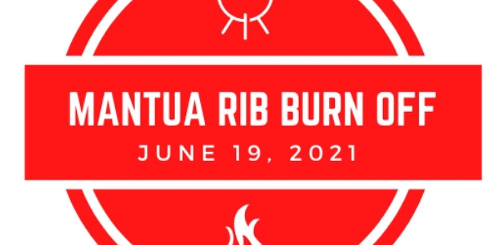 1st Annual Mantua Rib Burn Off