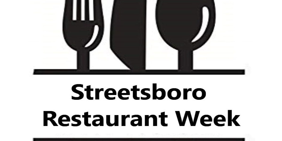 Streetsboro Restaurant Week (4/18-4/24)
