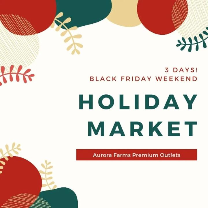 Black Friday Artisan Market (11/26-11/28)