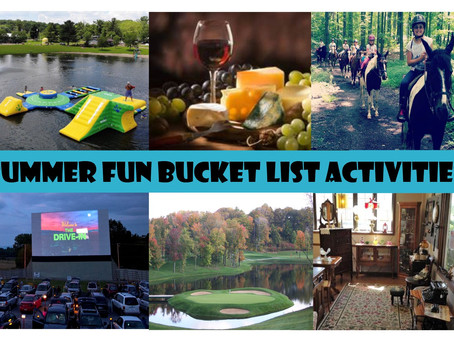 SUMMER FUN BUCKET LIST ACTIVITIES