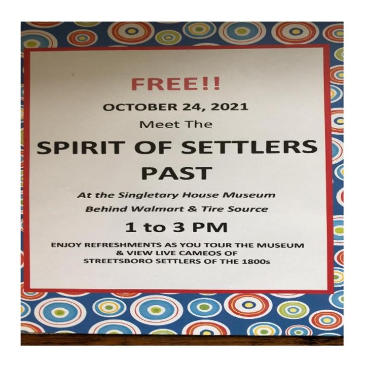 Spirit of Settlers Past