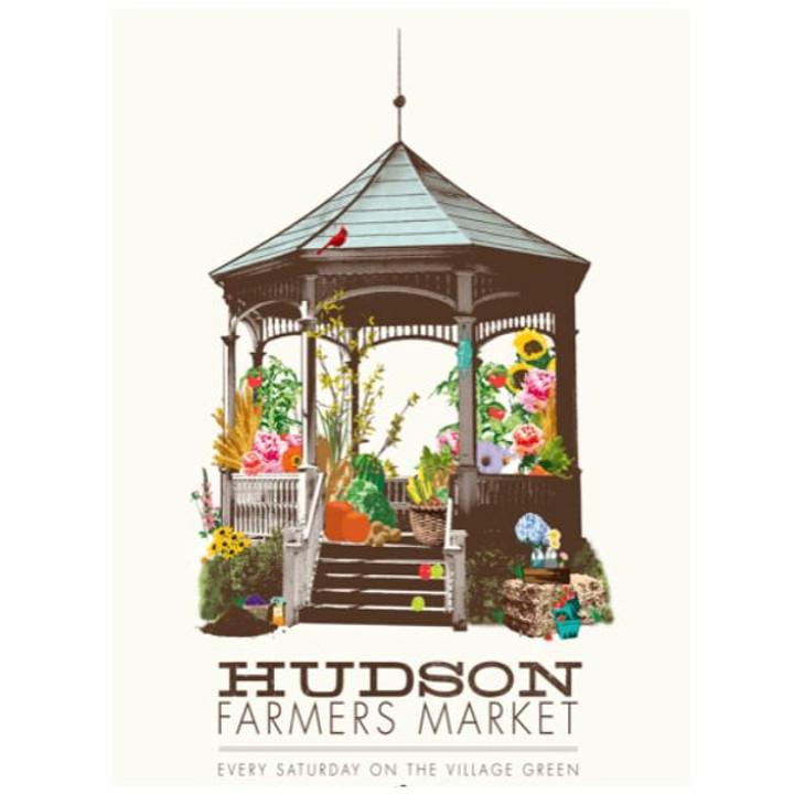 Hudson Farmers Market (6/5-10/9)