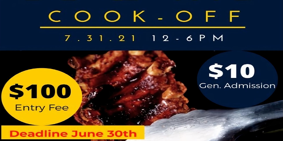 1st Annual Rib Cook-Off
