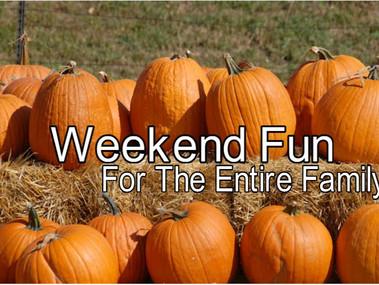 Fun Weekend Plans