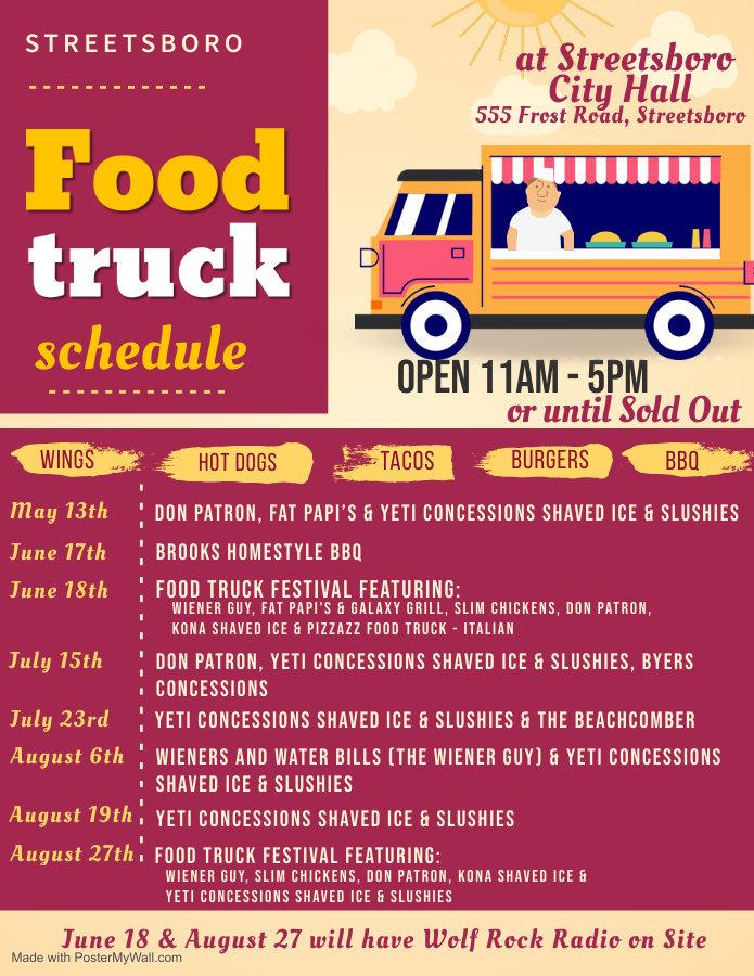 food truck schedule 2021 updated 5 26 20