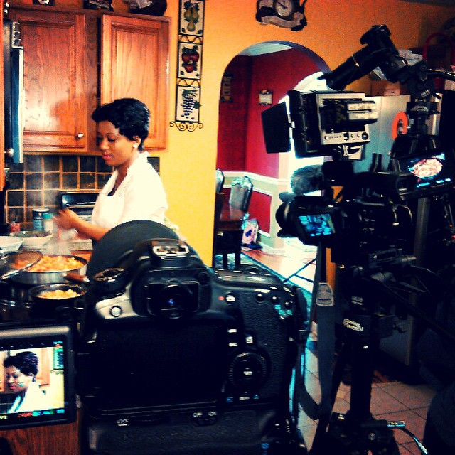 Filming A Cooking Show