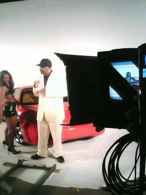 """Shake N Snap"" video shoot"