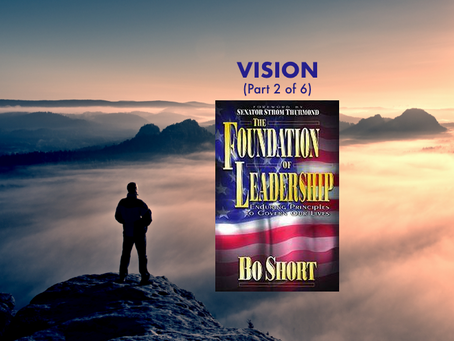 VISION - Foundation of Leadership
