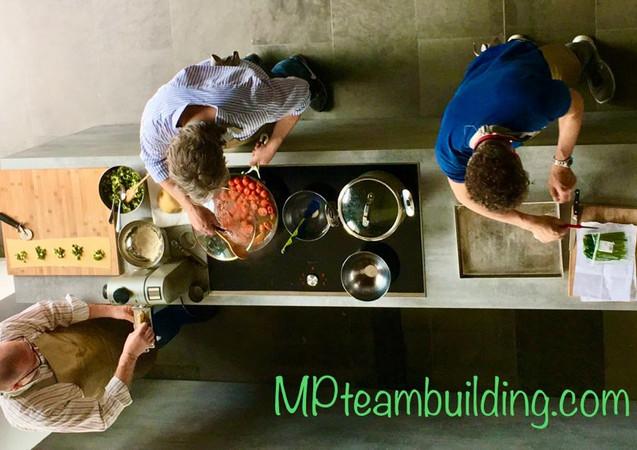 Teaming: Cooking