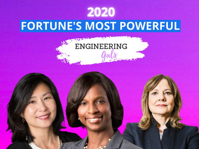 Fortune's Most Powerful (Engineering Gals) of 2020