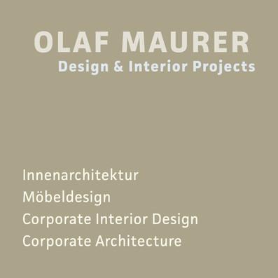 Auf unserer Webseite zeigen wir diverse Projekte, die wir eigenständig oder für Architekturbüros bzw. Agenturen realisiert haben.  Unsere Fachgebiete beinhalten:  – Entwicklung und Erstellung von Einrichtungskonzepten und Entwürfen – Detailplanung und Ausarbeitung der Entwürfe – Konzeption, Entwurf und Planung individueller Einbaumöbel und Einrichtungsobjekte – Beratung zu Farben, Materialien, zur Beleuchtung und zu Produkten – Bau- und Ausführungsbegleitung  …für den Privatbereich sowie für Büro, Gewerbe, Gastronomie und Hotel  Olaf Maurer Berlin und Uckermark  maurer@olafmaurer.de