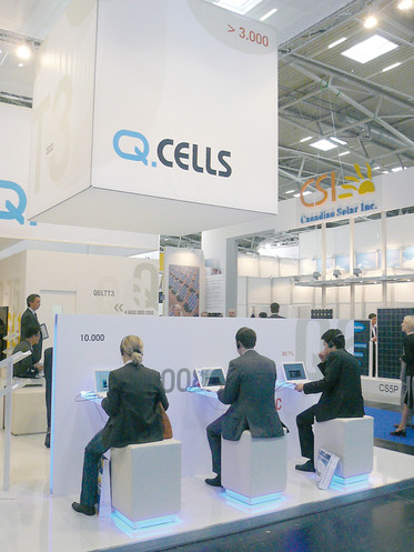 Q-Cells SE | Internationale Messen