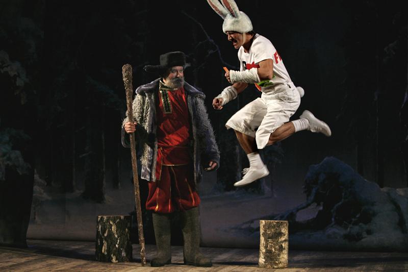 Заяц и Дед Мороз