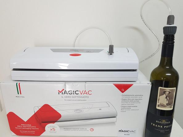 Magicvac wine bottle