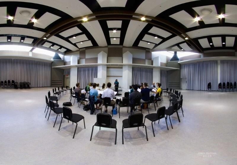 Band Hall Rehearsal Room