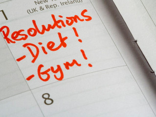 New Year resolutions - from the eyes of a personal trainer