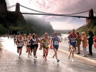 The marathon...