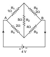 Wheatstone bridge electric circuit