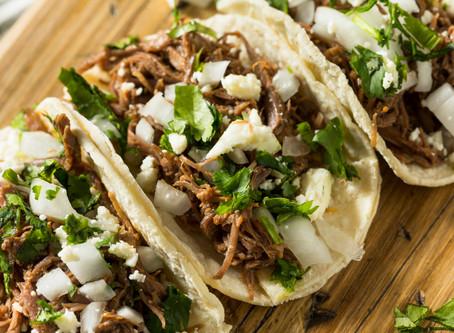 Tacos 2 Ways- Brisket and Sirloin
