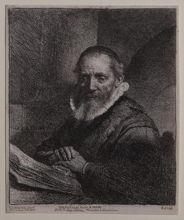 Portrait of Jan Cornelius Sylvius.
