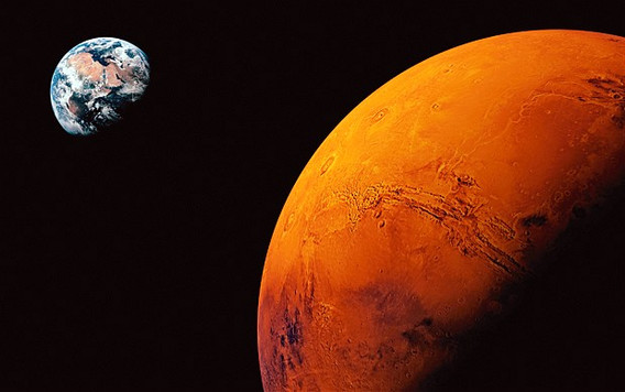 Earth and Mars Intro