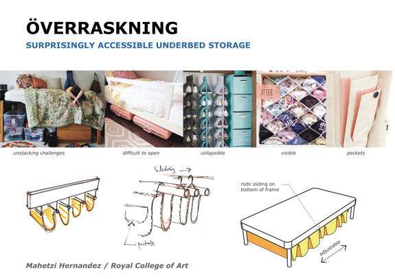 Accessible Underbed Storage