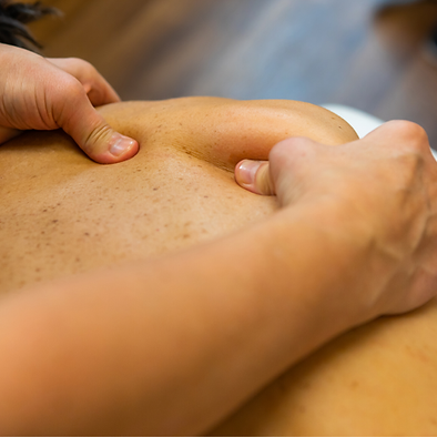 vitality massage therapy. reduces tension in the muscles through massage